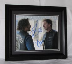 "A300SOA KIM COATES ""TIG"" & KENNY JOHNSON ""KOZIK"" ""SONS OF ANARCHY"" DUAL SIGNED"
